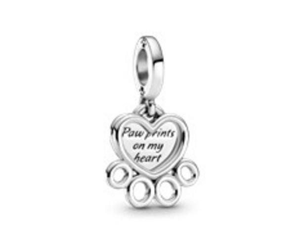 Hearts & Paw Print Dangle Charm offers at RM 189