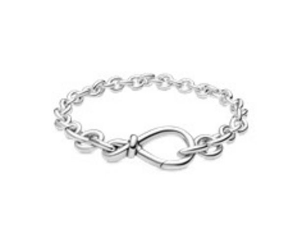 Chunky Infinity Knot Chain Bracelet offers at RM 479