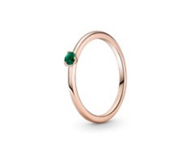 Green Solitaire Ring offers at RM 189