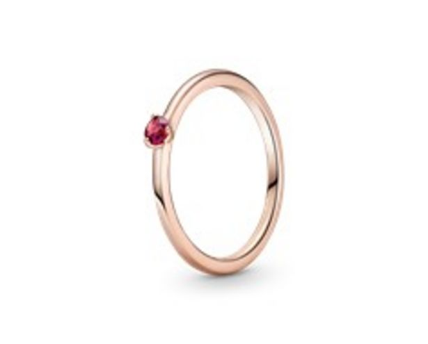 Red Solitaire Ring offers at RM 189