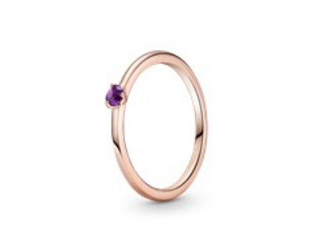 Purple Solitaire Ring offers at RM 189