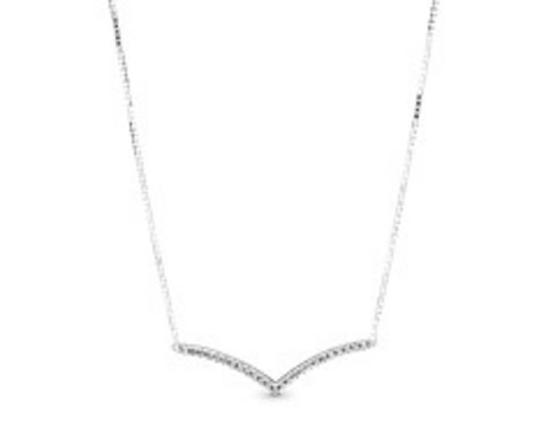 Sparkling Wishbone Necklace offers at RM 379