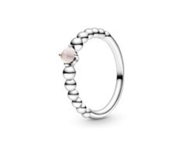 Misty Rose Beaded Ring offers at RM 219