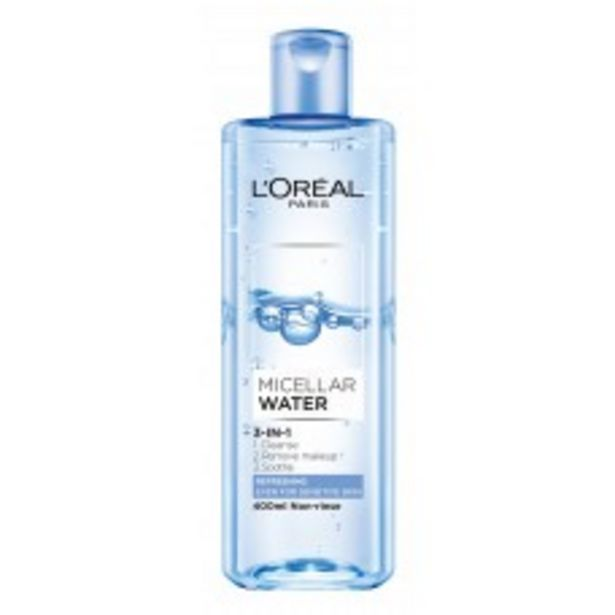 3-IN-1 MICELLAR WATER(REFRESHING) 400ML offers at RM 37.9