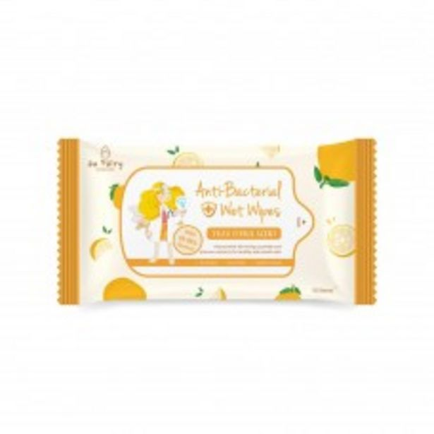 ANTIBACTERIAL WIPES YUZU SCENT 4X10S offers at RM 8.9