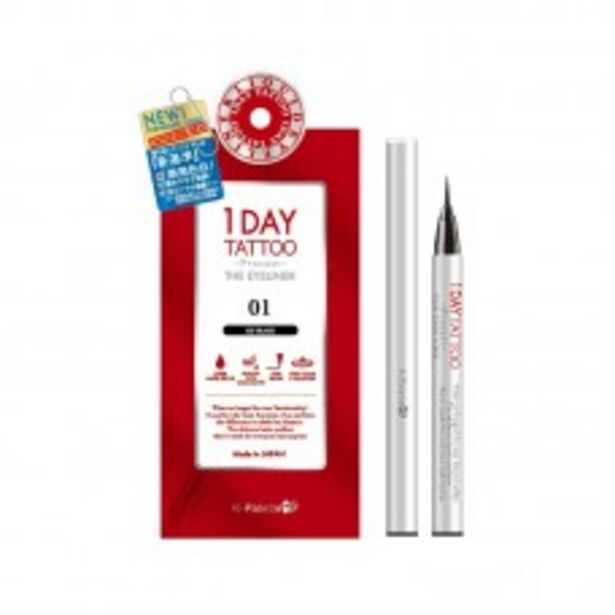 1DAY TATTOO PROCAST THE EYELINER (01 ICE BLACK) 28G offers at RM 69.9