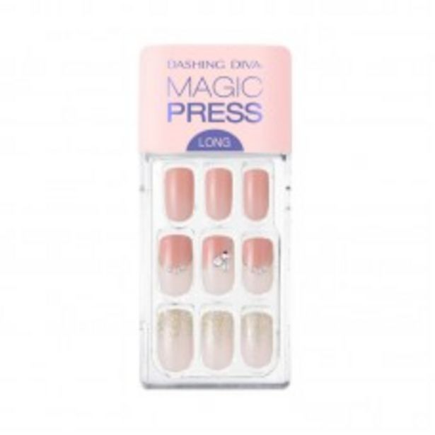MAGIC PRESS SQUARE LONG MANI (SOFT CORAL) offers at RM 49.9