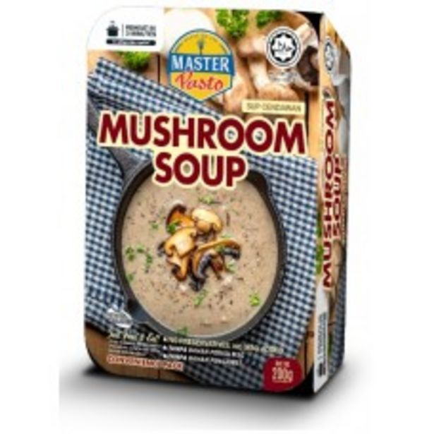 MASTER PASTO MUSHROOM SOUP 200G offers at RM 6.2