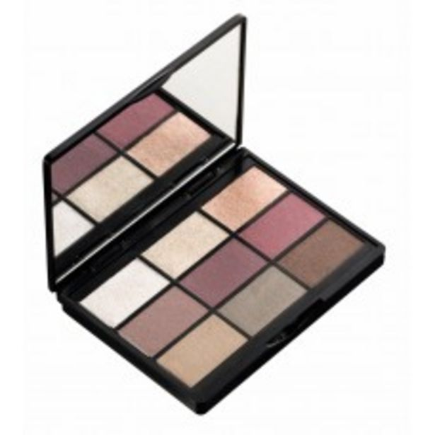 9 SHADES EYESHADOW PALETTE (001 TO ENJOY IN NEW YORK) offers at RM 79.9