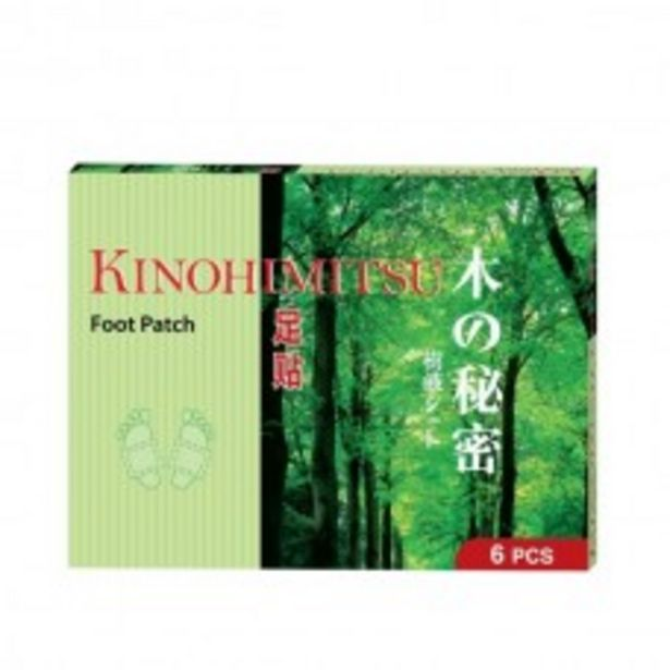 KINOHIMITSU FOOT PATCH 6S offers at RM 59.9