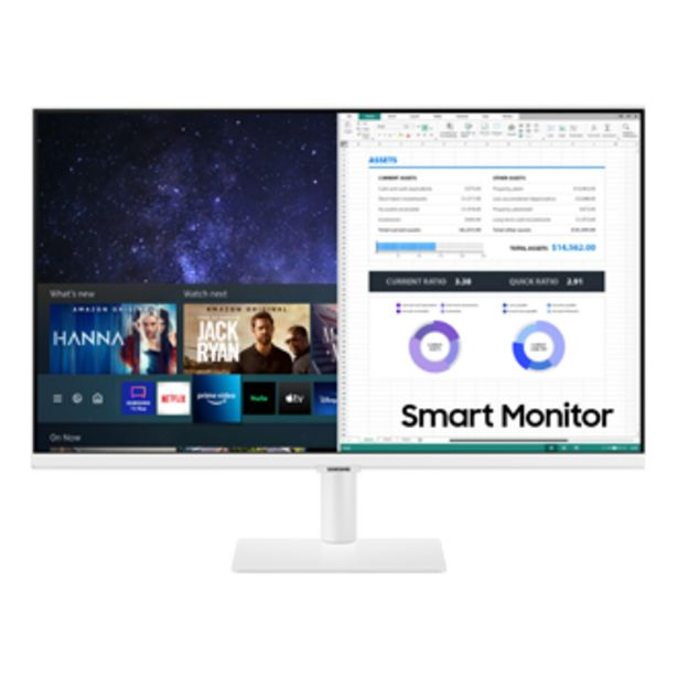 """27"""" Smart Monitor - M5 White offers at RM 1488"""