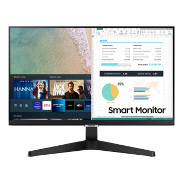 """24"""" Smart Monitor - M5 Black offers at RM 1088"""