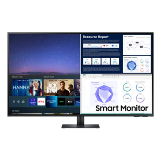 """43"""" Smart Monitor - M7 Black offers at RM 2888"""
