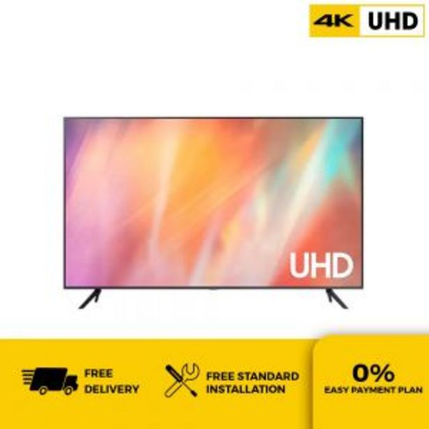SAMSUNG UA50AU7000KXXM 50IN UHD SMART TV offers at RM 2899
