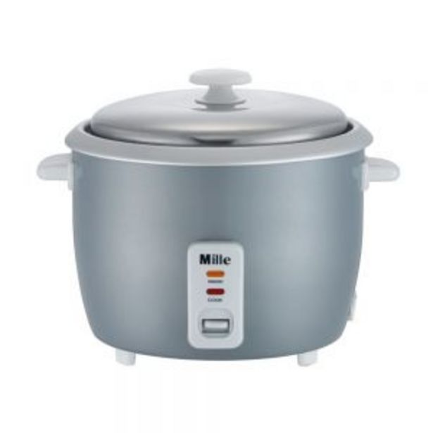 MILLE MRC-1818 RICE COOKER 1.8L offers at RM 73