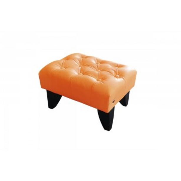 Full Leather Mini Stool (Rectangle) offers at RM 169
