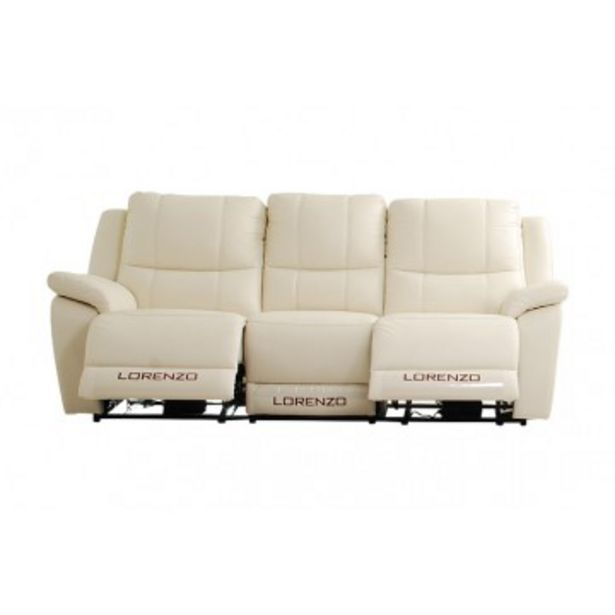 Dante 5416RC 3 Seaters Recliner offers at RM 3899