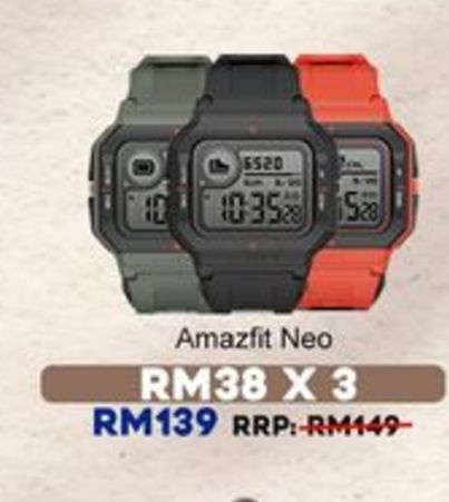Watch offers at RM 139