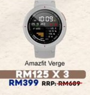 Smart watch offers at RM 399