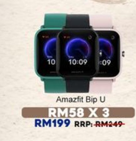 Smart watch offers at RM 199