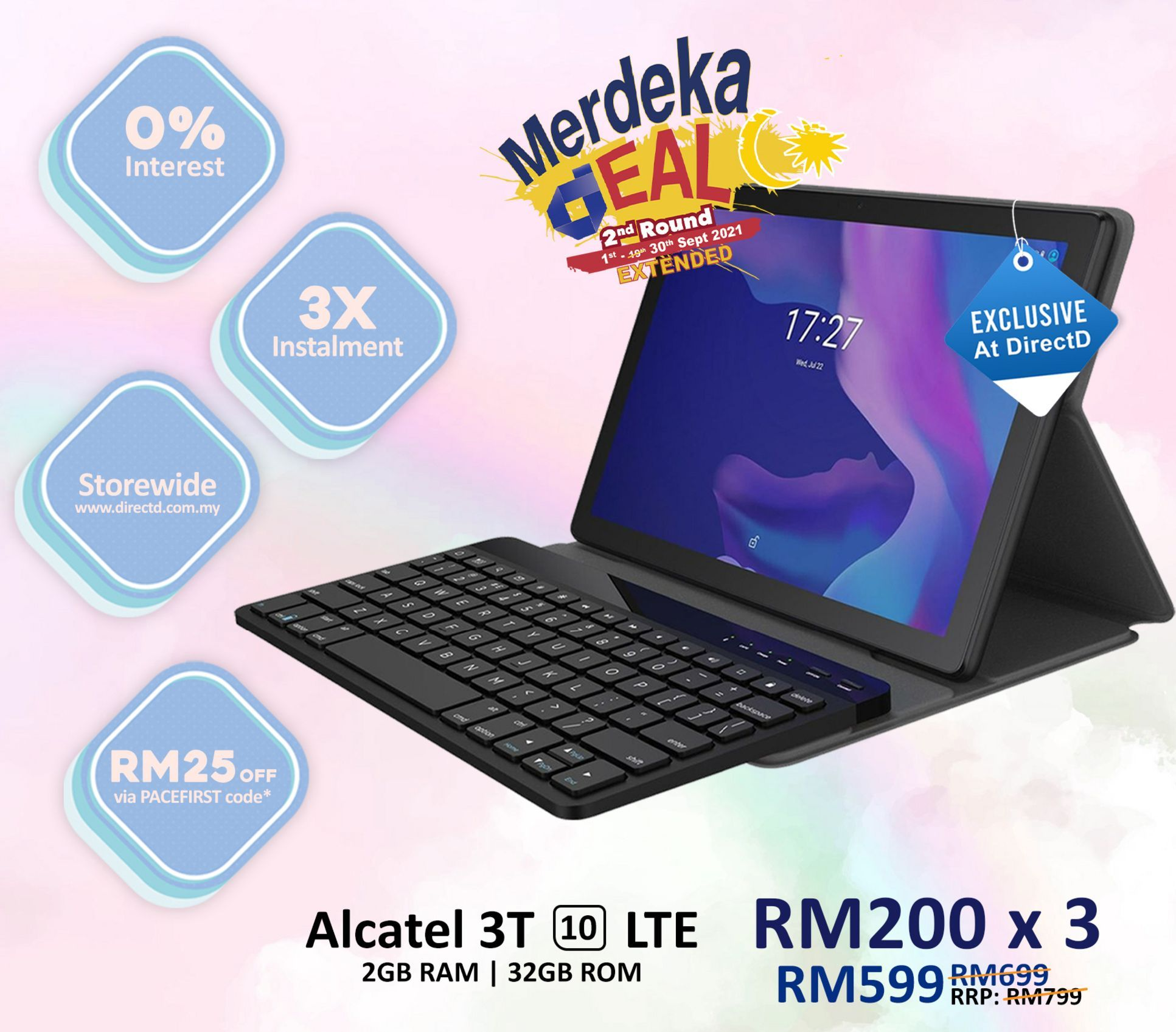 Tablet offers at RM 599