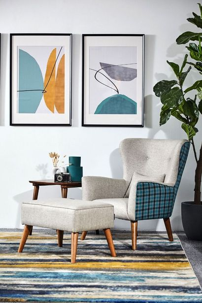 Laura Wingchair + Stool offers at RM 1888