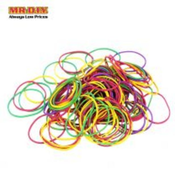 Colorful Rubber Band 38mm (100g) offers at RM 2.5