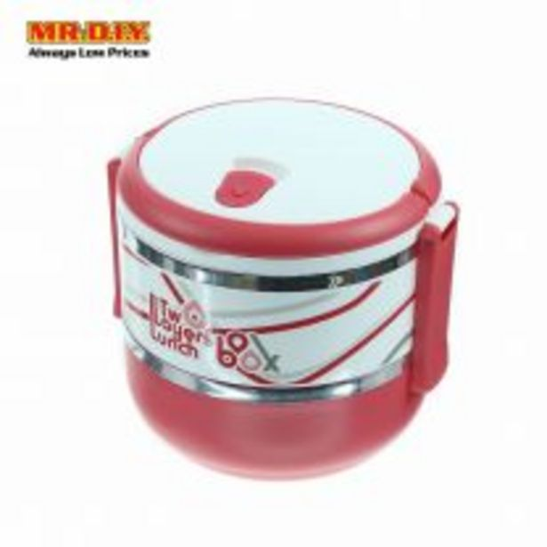 Double Layer Plastic Lunch Box offers at RM 11.79