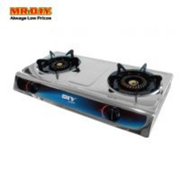 MR DIY PREMIUM Double Burner Gas Stove GS-8247A offers at RM 89