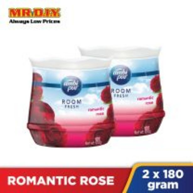 AMBI PUR Room Fresh Air Refreshing Gel Value Pack Romantic Rose (2 x 180g) offers at RM 15.99