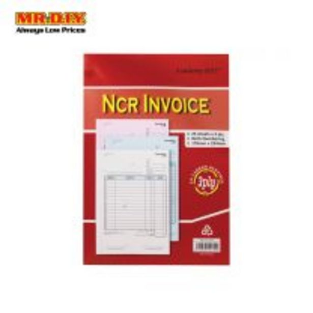 Academy Gold WM 710-3 INV NCR Invioce Book with Numbering(3PLY X 25 SET)(178MM X 254 MM) offers at RM 5.3