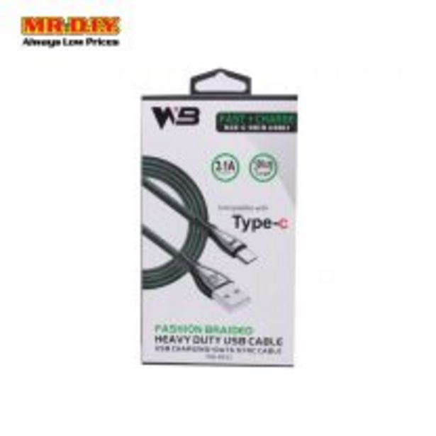 31A Fast Charge Cable Wb-B632 Typec offers at RM 11.9