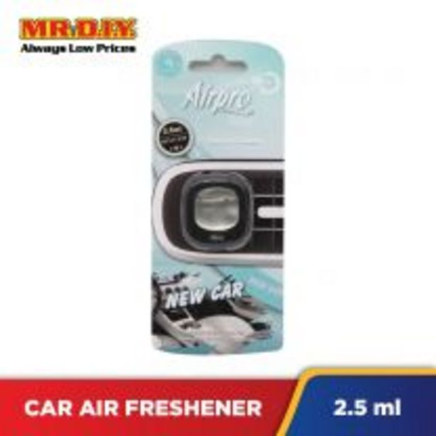 AIRPRO Auto Air Freshener Clip 1124077 - New Car offers at RM 3.6