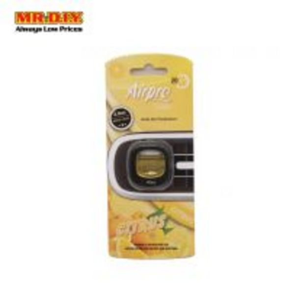 AIRPRO Auto Air Freshener Clip 1124078 - Citrus offers at RM 4.5