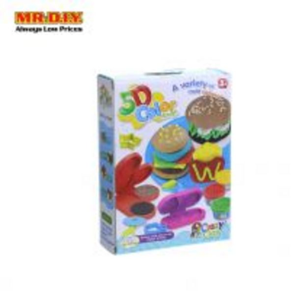 CRAZY CLAY 5D Color Clay Burger Play Set offers at RM 9.34