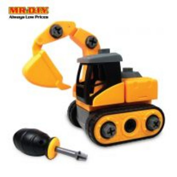 LEBX Backhoe Truck Assembled Playset Toys offers at RM 19.9