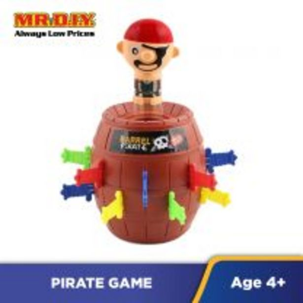 MTL Pirate Barrel Game offers at RM 9.9