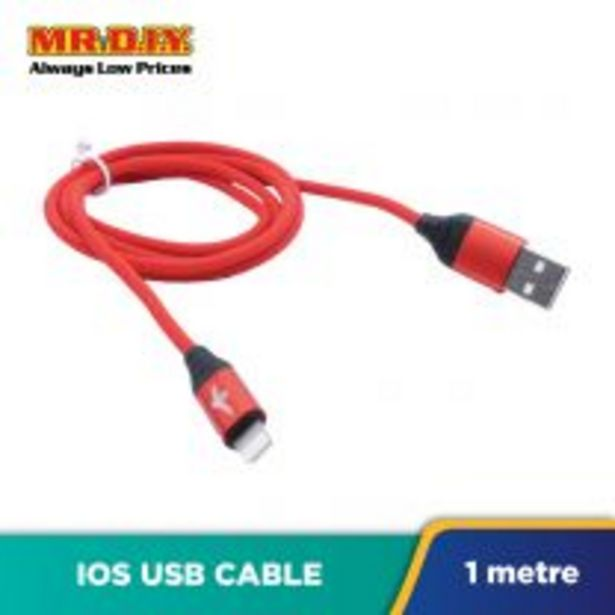 LS Fashion Braided Heavy-Duty iOS USB Fast Charging Data Cable 3.1A (100cm) offers at RM 8.3