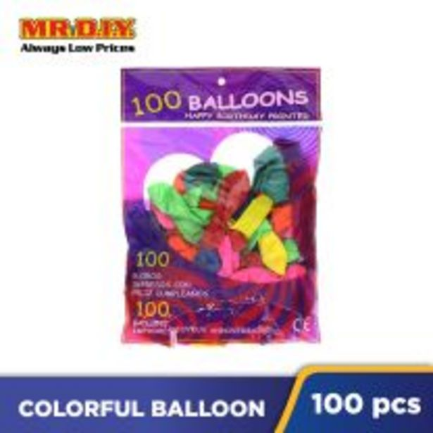 Colorful Balloon (100 pcs) offers at RM 7.5
