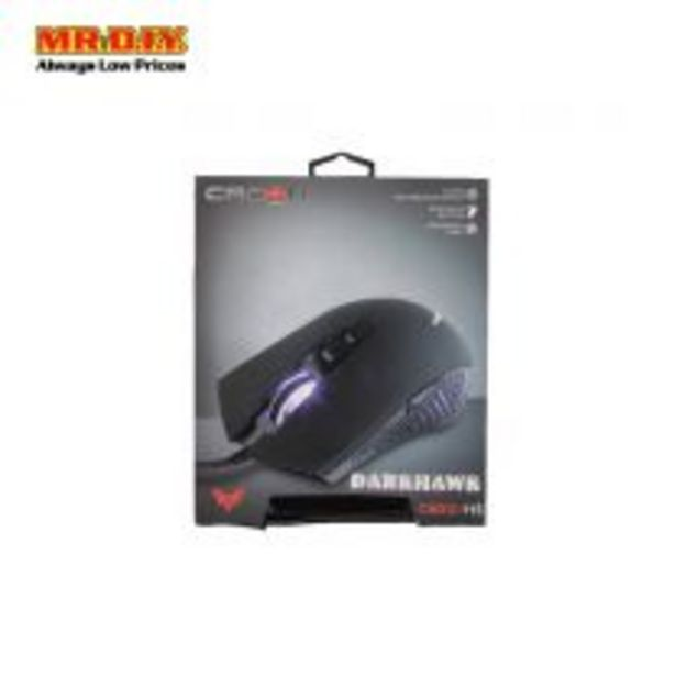 CROWN DarkHawk Wired Gaming Mouse CMXG-115 Black offers at RM 23.9