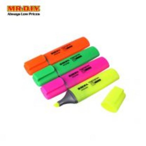 BEIFA Highlighter 4Pcs HY254400 offers at RM 3.8