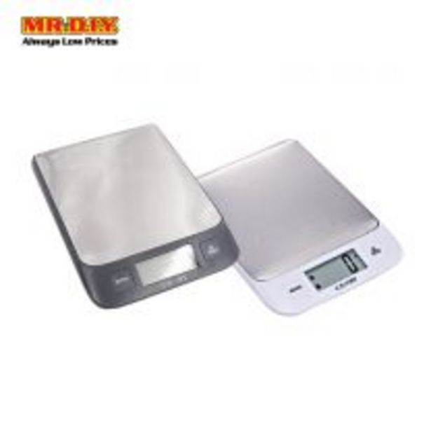 CAMRY Electronic Kitchen Scale (22cm x 15cm) offers at RM 55.7