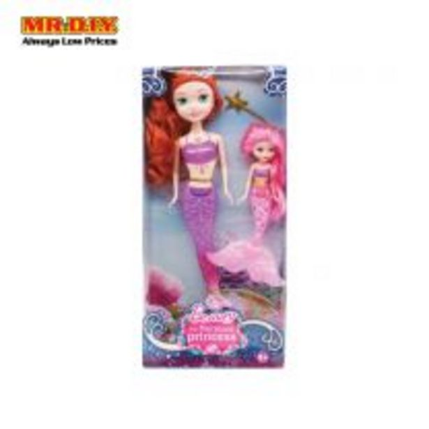 BEAUTY 2 In 1 The Mermaid Princess Doll Toys offers at RM 23