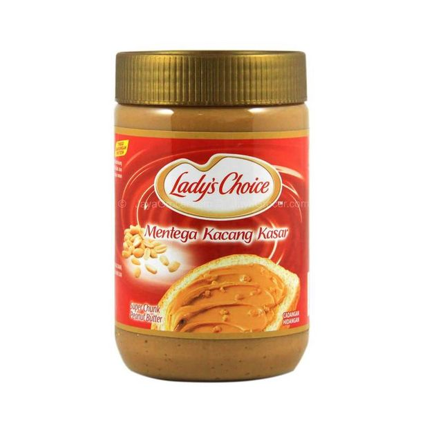 Lady's Choice Chunky Peanut Butter 500g offers at RM 17.9