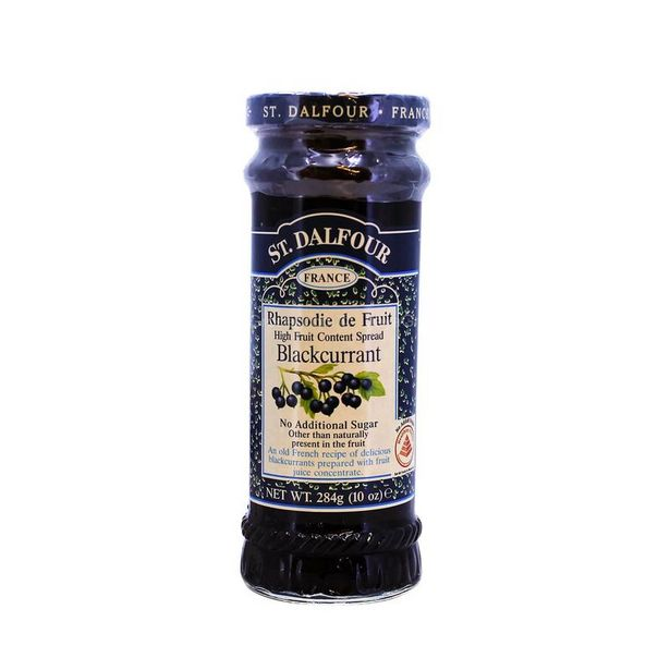 St. Dalfour Blackcurrant Jam 284g offers at RM 14.2