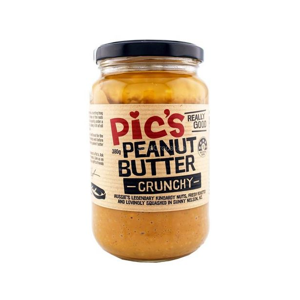 Pic's Peanut Butter Crunchy 380g offers at RM 19.9