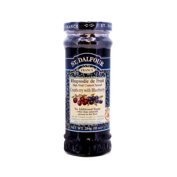 St. Dalfour Cranberry & Blueberry Jam 284g offers at RM 14.2