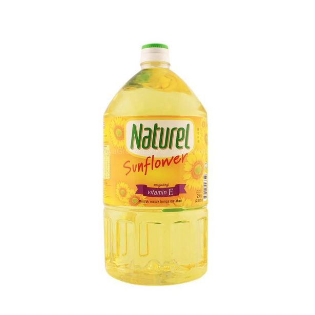 Naturel Sunflower Cooking Oil 2kg offers at RM 24.5