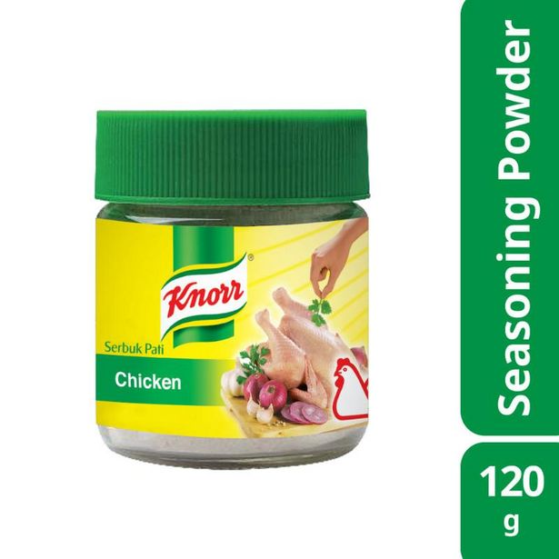 Knorr Chicken Flavoured Seasoning Powder 120g offers at RM 5.65