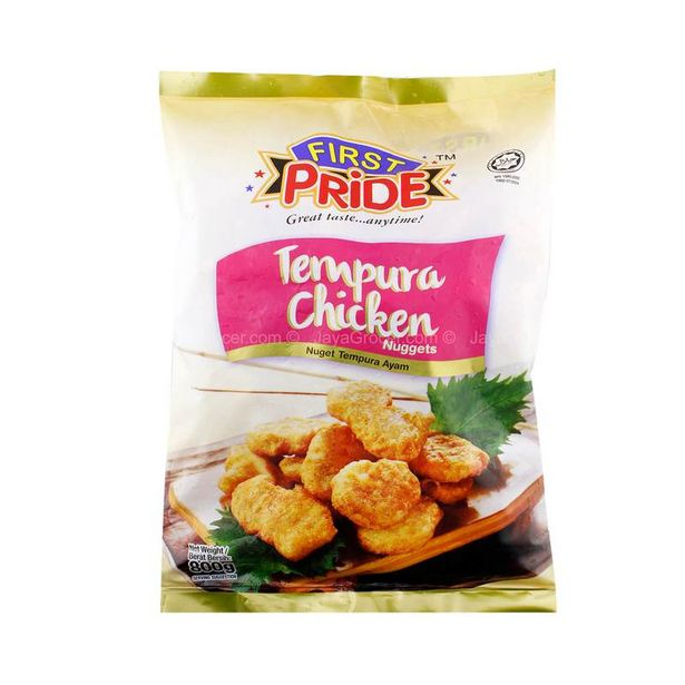 FIRST PRIDE CHICKEN NUGGET 800G *1 offers at RM 14.9